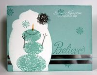 Stamp 4 fun with Selene Kempton: Christmas Card Project Parade~ Whoop Whoop!