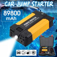 TM31 89800mAH 1000W Portable Car Jump Starter 12V Auto Battery Booster Modified Sine Wave Function Power Bank
