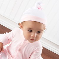 You just never know! Maybe someday she'll grace center stage, so dress her for her big debut in this delightfully pink confection from Baby Aspen. Made of snuggly-soft 100% cotton and whimsically trimmed with a satiny-ribbon organza tutu, she&rs...