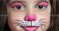 """face painting cat 