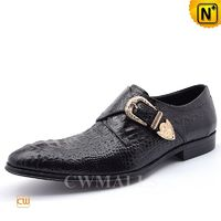 CWMALLS® Men Leather Monk Strap Loafers CW716208