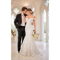 Stella York 6496 - Branded Bridal Gowns|Designer Wedding Dresses|Little Flower Dresses
