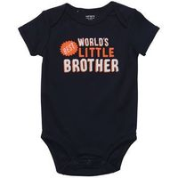 Short-Sleeve Slogan Bodysuit, on sale $6 at Carters