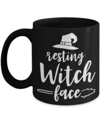 Resting Witch Face Halloween $16.95
