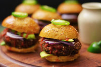 Black Bean Quinoa Sliders