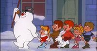 The holidays aren't the same without the TV classic, Frosty the Snowman!