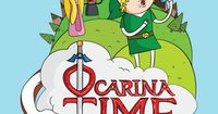 Ocarina Time by Michael Holmes - Legend of Zelda Ocarina of Time x Adventure Time cross-over!