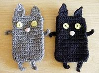 Cute crochet kitties phone case #crochet#kitties#crafts