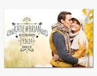 Photo Save the Dates.. love the design!