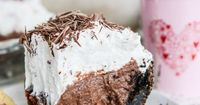 Chocolate Cream Pie with Vanilla Whipped Cream. (via Bloglovin.com )