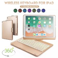 360º Rotation Bluetooth Wireless Tablet Keyboard Protective Case With Pencil Holder For iPad Pro 10.5 Inch