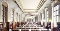 Sorbonne Library, Paris, as photographed by Candida Hofer