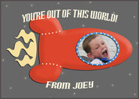 """Kids Photo Valentines Day Card Personalized .jpg file -- sheet of 8 2.5x3.5"""" wallet sized tags $5.35"""