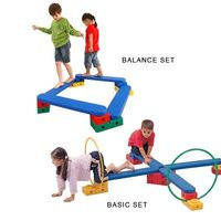 fun balance and motor planning Motor Skills Set - Create stairs, steps, beams, obstacles and more. Teach over, under, through, across. The Weplay® Motor Skills Basic Set includes a variety of pieces to target coordination and balance, enhance fine and ba...