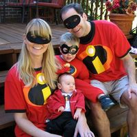 Cute idea for a family -The Incredibles