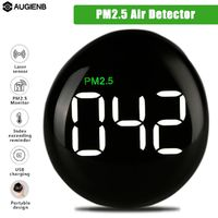 AUGIENB Mini PM2.5 Detector Laser Sensor Air Quality Monitor for Home Hospital