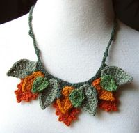 Pretty for fall. This is wool, but could easily be done with a cruelty-free fiber.