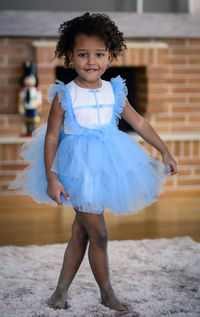Charming in Blue - a gorgeous baby dress made of �'�168.00