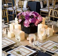 love this idea of centerpieces...i think mine will look similar