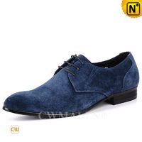 CWMALLS® Boston Men Nubuck Leather Oxford Shoes CW708131 [Custom Gift, Global Free Shipping]