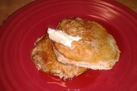 Oatmeal Ricotta Pancakes (from my blog) YUM