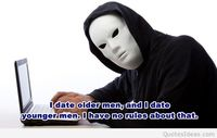 Dating people with a quote