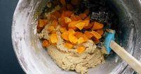 dark chocolate apricot oatmeal cookies