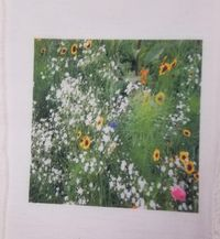 Fabric Panel Flowers Multiple Sizes Available. Flowers Poly Quilt Fabric Crafts Quilts, Quilters, Patchwork, Sewing Quilting $7.95