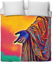 Walk In Faith Duvet Cover $119.99