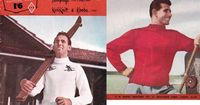 60s Vintage Mens Knitting patterns Booklet by allthepreciousthings