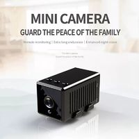 Mini Sport Camera Remote Monitoring Extra Long Endurance Enhanced Night Vision 140° Wide Angle