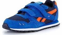 Reebok Gl 1500 Junior Trainers Reebok Gl 1500 Junior Reebok Junior GL 1500 Trainers in Black Navy Orange and White These trainers feature a low-cut design a semi-padded collar for comfort and support of the ankle and an EVA foam mi http://www.comparestore...