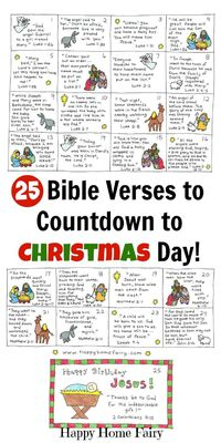 One my most popular Christmas posts is the set of 24 cards I created several years ago that tell a little piece of the Christmas story each day (you can see the