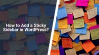 Sticky Sidebars! Whether you stumble upon a news website, a blog, or an online store, the chances are high that you will encounter them. Learn how to add it to your website.
