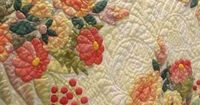 The charm of country quilts. Hand made and beautifully executed.