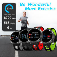 Bakeey M58 Stainless Steel Shell IP68 Waterproof Heart Rate Detection Message Vibration Multi-language Smart Watch