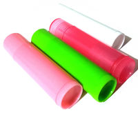 CLEARANCE Pack of 10 Lip Balm Tubes. Different Colours Available. Colourful Lipstick & Gloss Containers. £6.49