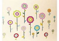 Home Decor FLOWERS Childrens Wall Stickers for Girls Bedroom or Childrens Playroom, Babies Nursery (Kids Sticka Sticker sheet size: 35*60cm (Barcode EAN = 0039409608074). http://www.comparestoreprices.co.uk//home-decor-flowers-childrens-wall-s...