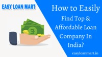 Easy Loan Mart is one of the Best Loan Company In India. It provides easy and quick loans with low-interest rates. Get an easy home loan, business loan, personal loan, the instant loan then call us on +91-9477079053 and also visit the website.