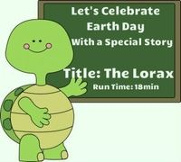 This is an online read aloud of The Lorax by Dr. Seuss. Great title for an April read, as the book conveys a powerful message about the importance of trees, and lends itself to various Earth Day activities. Run time is about 18 minutes. Graphics from www....