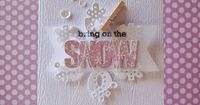 Bring On The Snow Card by Cristina Kowalczyk for Papertrey Ink (October 2013)