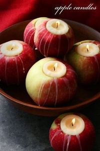 Do this for thanksgiving! Easy and huge impact. Lots of compliments!! #falldecor #falltable #fallcenterpiece