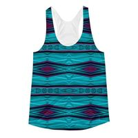 Exclusively from And Above All YOGA --- �€œDiamond Tapestry�€ Women's Racerback Tank Top for just $29.95 with FREE SHIPPING