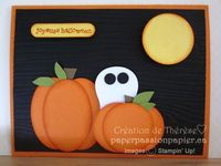 Hiding in the pumpkin patch by Therez - Cards and Paper Crafts at Splitcoaststampers