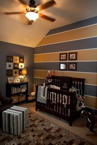 Baby boy nursery that could easily be a more grown-up look for later :)