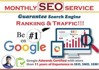 Are you looking for monthly SEO service on SEO Clerk? Then you are at right gig. I'm a digital marketing expert carrying an experience of 12+ years. I will optimize your website as per Google guidelines and boost your website ranking and sales only ...