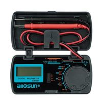 ALL SUN EM3081 Digital Multimeter 3 1/2 1999 AC/DC Ammeter Voltmeter Ohm Portable Meter Voltage Meter