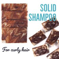 Solid Shampoo for Curly Hair $8.00
