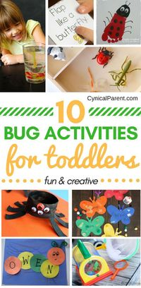 Does your little one love all things bug-related? We've found 10 fun and creative bug activities for