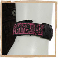 Animal Watch Strap Pink Animal Watch Strap Fits Most Watches Nylon/Velcro http://www.comparestoreprices.co.uk/sports-goods/animal-watch-strap-pink.asp